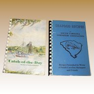 Catch-of-the-Day Southern Seafood Secrets & Seafood Recipes, These Cookbooks by the South Carolina Shrimpers Association