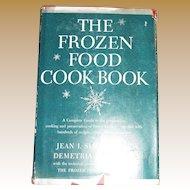 1948, The Frozen Food Cookbook by Jean Simpson & Demetria Taylor HC/DJ, 1st Edition