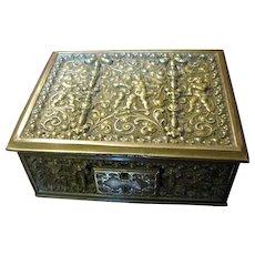 Antique Erhard & Söhne Renaissance Revival Bronze Box