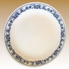 """Two 10"""" Dinner Plates Blue Onion Pattern by Corelle Corning"""