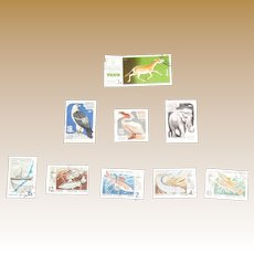 49 Russian USSR / CCCP Stamps of Animals & Birds 1964 -1974, Very Fine