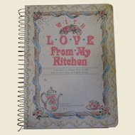 With Love From My Kitchen, Recipe Keeper, Victorian Edition Cookbook