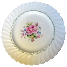 """Royal Staffordshire Clarice Cliff Janice 10"""" Dinner or Cabinet Plate"""