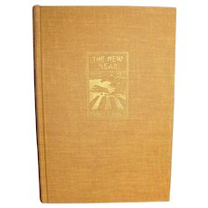 The New Year by Pearl S. Buck, 1968 HC, Winner of The Nobel Prize for Literature