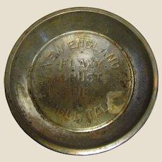 Vintage New England Table Talk Flaky Crust Pie Tin