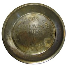Vintage New England Table Talk Flaky Crust Pie Tin