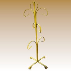 Art Deco Painted Metal Display Stand, Necklaces, Bracelets or Other