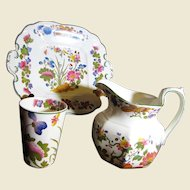 """Beautiful 3 Piece Collection of Wedgwood """"Groups"""" Multi-color Pattern"""