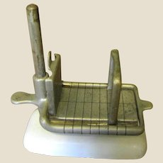Antique Elgin Cheese & Butter Slicer Pat. 1901&1911 Slices Horizontally & Vertically