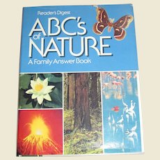 ABC's of Nature - A Family Answer Book HCDJ Reader's Digest, 1988