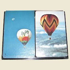 Double Deck Bridge Playing Card Set by Hoyle, Hot Air Balloons