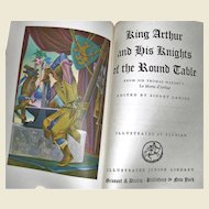 King Authur and His Knights of the Round Table ed. by Sidney Lanier,1976, 3rd to 6th Graders