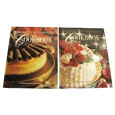 The Spirit of Christmas Cookbook 2 Volume Set, HC, Like New