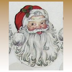 Holiday Christmas Santa Claus Playing Cards Great for Christmas Ornaments or Craft Project, 43 Cards