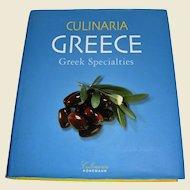 Culinaria Greece: Greek Specialties by Marianthi Milona, HCDJ, Near New