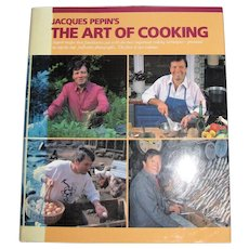 Jacques Pepin's the Art of Cooking, Volume One, HCDJ, Like New