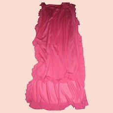 """Vintage Lily Pulitzer 88"""" Pink Ruffle Jersey Shawl"""