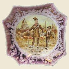 1940s Dicken's David Copperfield Dish, Lancasters Ltd, England
