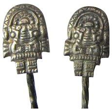 11 Alpaca Inca Figure Design Hors D'oeuvre Cocktail Forks