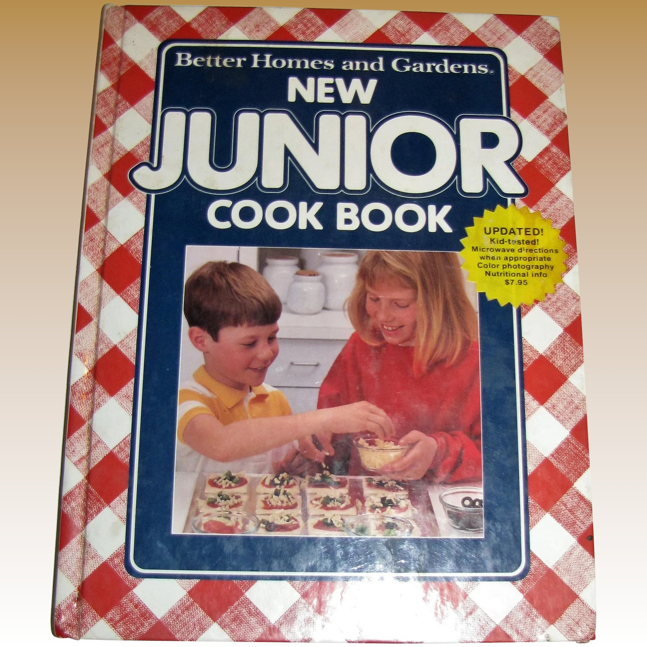 New Junior Cookbook By Better Homes And Gardens Hc 1991 Fay Wray Antiques Ruby Lane