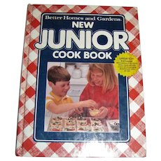 New Junior Cookbook by Better Homes and Gardens, HC, 1991