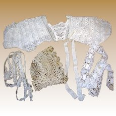 Collection of Antique Laces for Doll Costumes