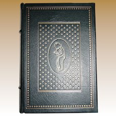 James Thurber - The Thurber Carnival, Franklin Library, Full Leather Bound, 1979 Limited Edition, Like New