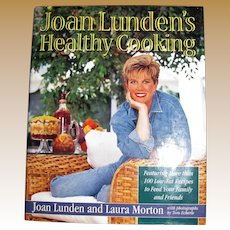 Joan Lunden's Healthy Cooking (HCDJ) 1st Edition, Like New