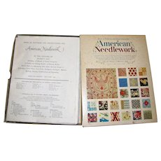 1963, American Needlework - Book of Patterns and Instructions for Recreating 176 Early American Designs by Woman's Day