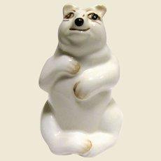 Coalport Bone China Figurine of a Polar Bear