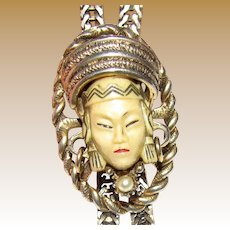 Selro Selini Asian Princess Slide Necklace