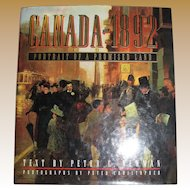 Canada 1892 - Portrait of a Promised Land by Peter C Newman and Peter Christopher,  Like New