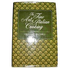 The Fine Art of Italian Cooking by Giuliano Bugialli, HCDJ