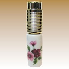 Small Perfume Atomizer w /Limoges Base by Step