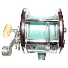 Vintage Penn Peer 309 Level Wind Reel, Made in U.S.A., Salt or Fresh Water Fishing