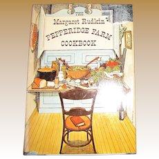 1963, The Margaret Rudkin Pepperidge Farm Cookbook, HCDJ, 1st edition