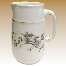"1876 Charles F Haviland French Limoges 5"" Pitcher"