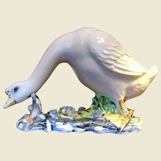 Hand Made Highly Detailed Goose Figurine