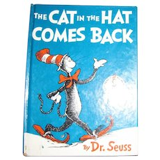 1958, The Cat in the Hat Comes Back by Dr. Seuss