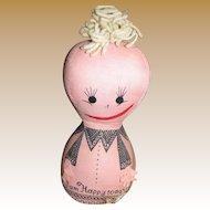 1960's 4 Face Mood Doll