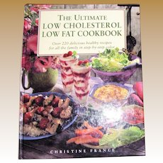 The Ultimate Low Cholesterol Low Fat Cookbook: Over 220 Delicious Recipes, HC