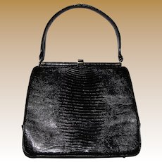 """1950's """"Escort"""" Alligator Handbag, Nr Mint"""