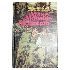 The Mystery of Monster Mountain, Alfred Hitchcock Mystery Series with the Three Investigators #20, HC, 1973