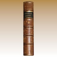 1832,Sketches from Venetian History, Vol. 2 covering 1406-1798, Leather, 1st Edition
