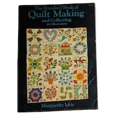 Harris, The Standard Book of Quilt Making and Collecting by Marguerite Ickis(Dover Publications, 1959) SC, 482 Illustrations