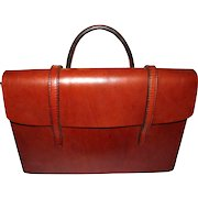 QUALITY Hand Made Calf Hide Small Brief or Music Case