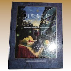 Dining By Fireflies -Charlotte North Carolina Junior League Cookbook, 1st Edition, 1st printing,HC, Like New