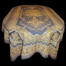 Victorian Heavy Woven Table Cover, Large 100'