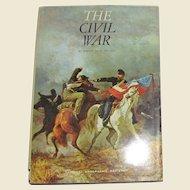 The Civil War by Robert Paul Jordan, National Geographic Society, Illustrated, HCDJ Plus Map