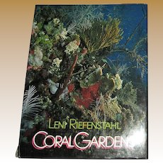 Coral Gardens by Leni Riefenstahl 1978 Photography Monographs 1st American Edition